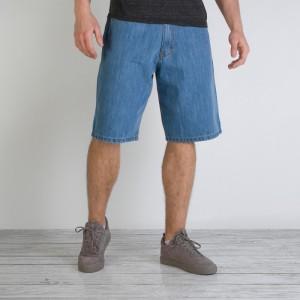 jeansowe krótkie spodenki męskie